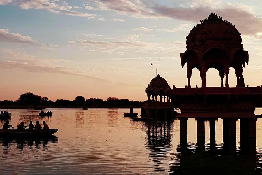 Gadisar Lake, Postal Colony, Jaisalmer, Rajasthan