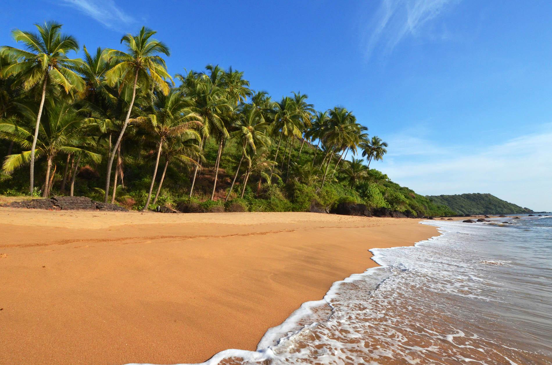 North Goa Beach India