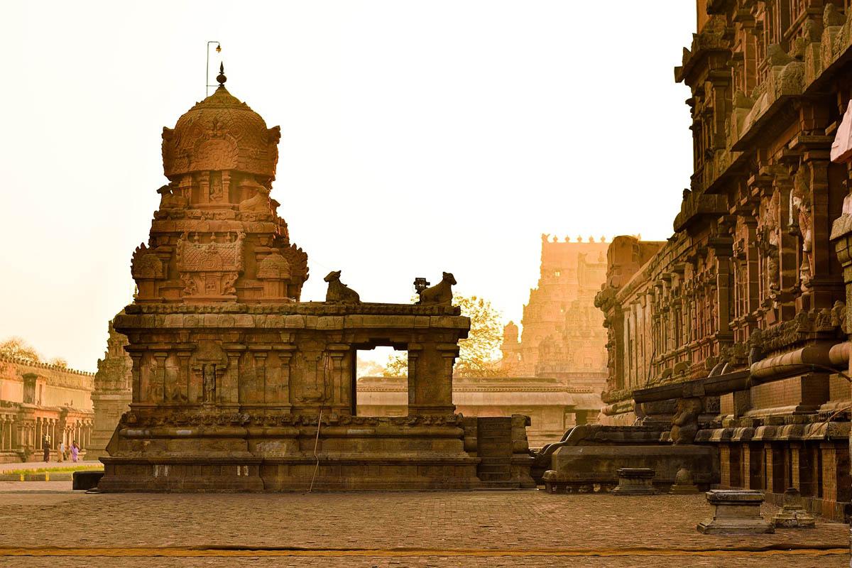 Temple Towns - Thanjavur, Tamil Nadu, India