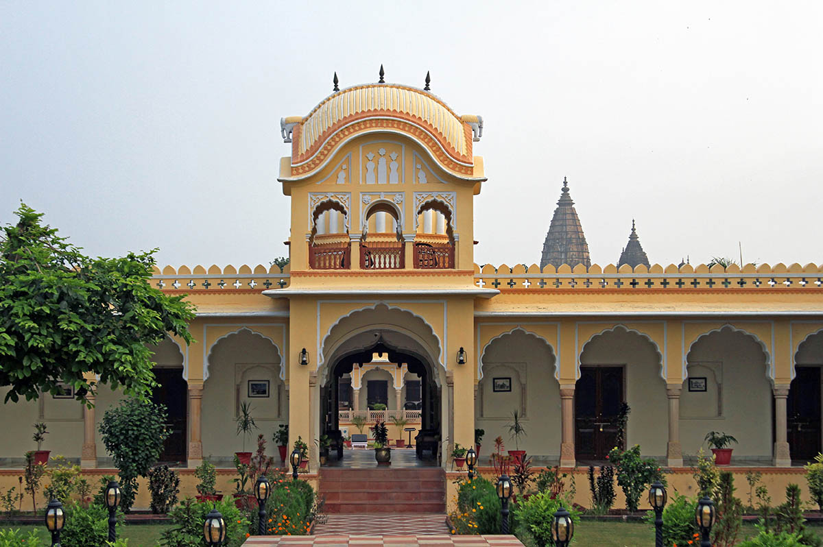 Amar Mahal - Orchha - Central - Icon
