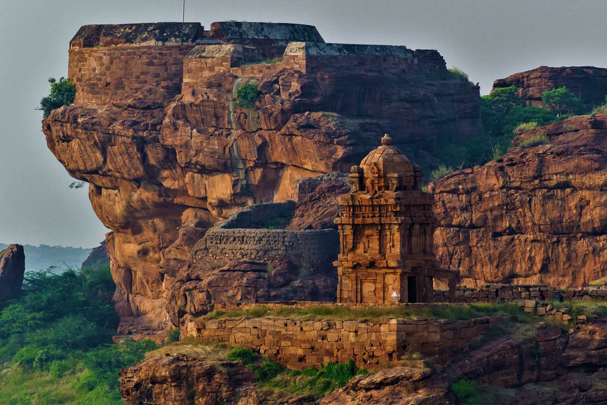 Badami, pattadakal and Buapur, Karnataka, India - Featured