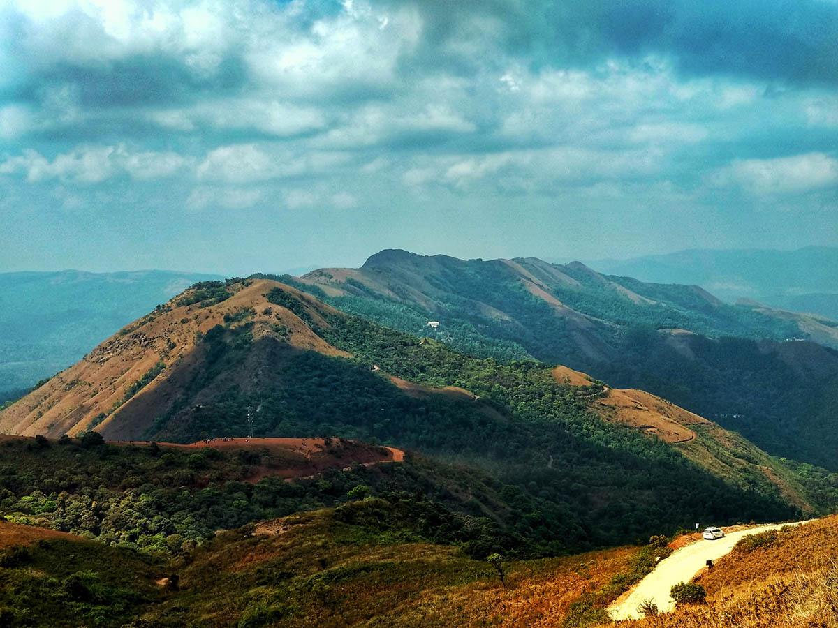 Belur - Mullayanagiri, Chikmagalur, Karnataka, India