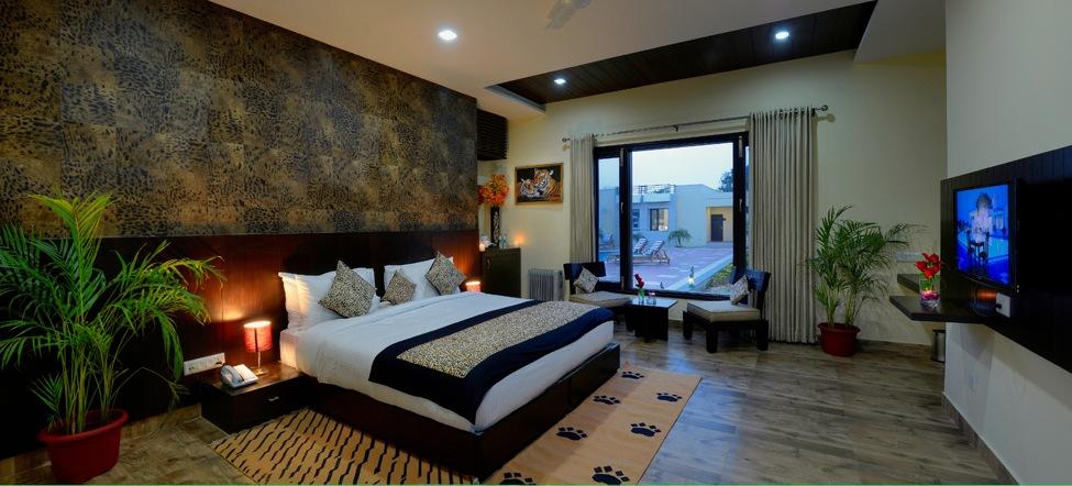 Jungle Vilas - Ranthambhore Bedroom 1