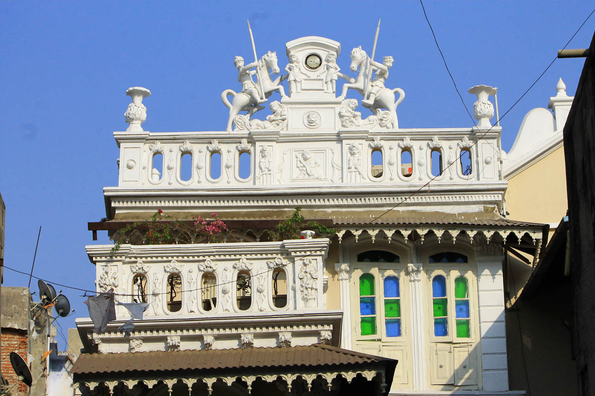 French Haveli - Ahmedabad - Gujarat - Icon